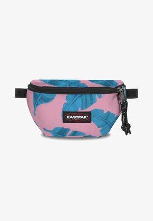 SPRINGER - Bum bag - brize leaves pink