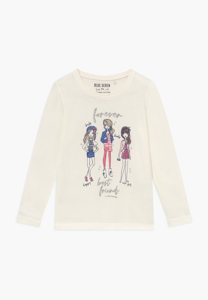 Blue Seven - KIDS BEST FRIENDS  - Long sleeved top - offwhite