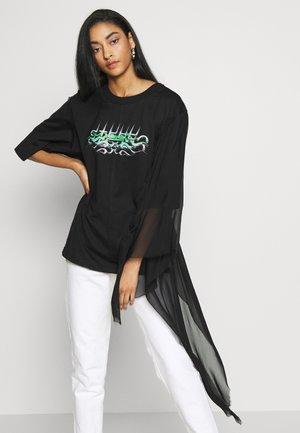 MENOX TANK - Long sleeved top - black