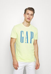 GAP - LOGO - Print T-shirt - wild lime - 0