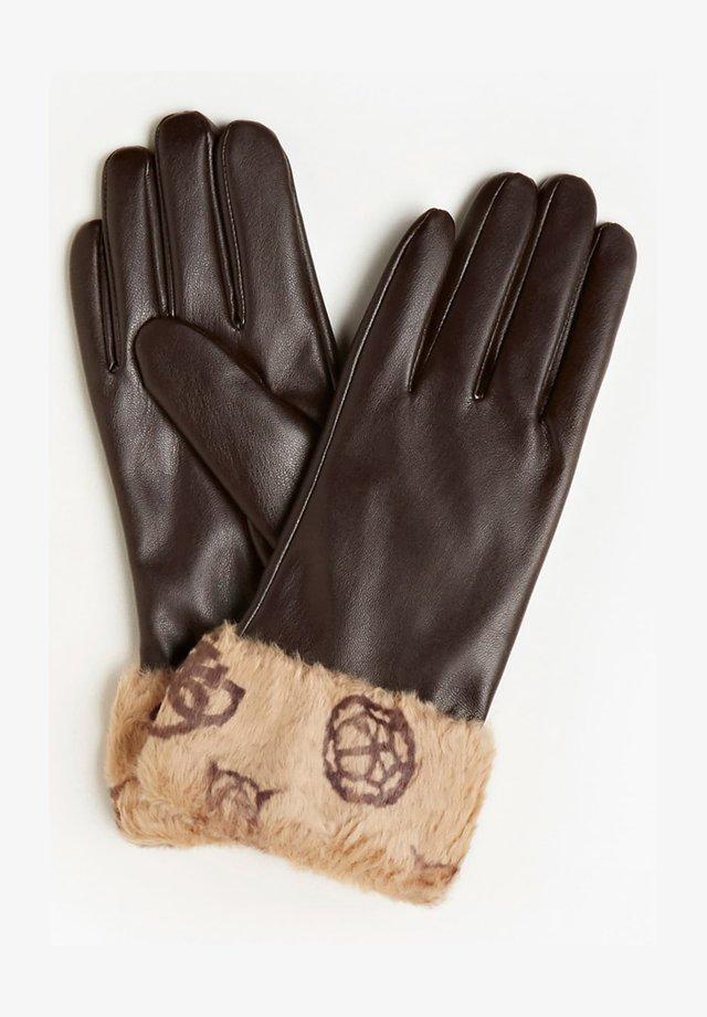 Gloves - braun