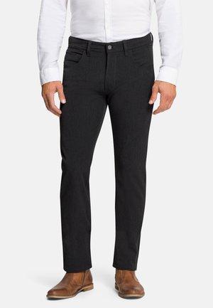 5-POCKET RANDO - Trousers - mottled dark grey