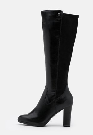 BOOTS - High heeled boots - black