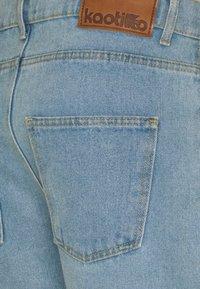 Kaotiko - BAGGY  - Denim shorts - blue - 2