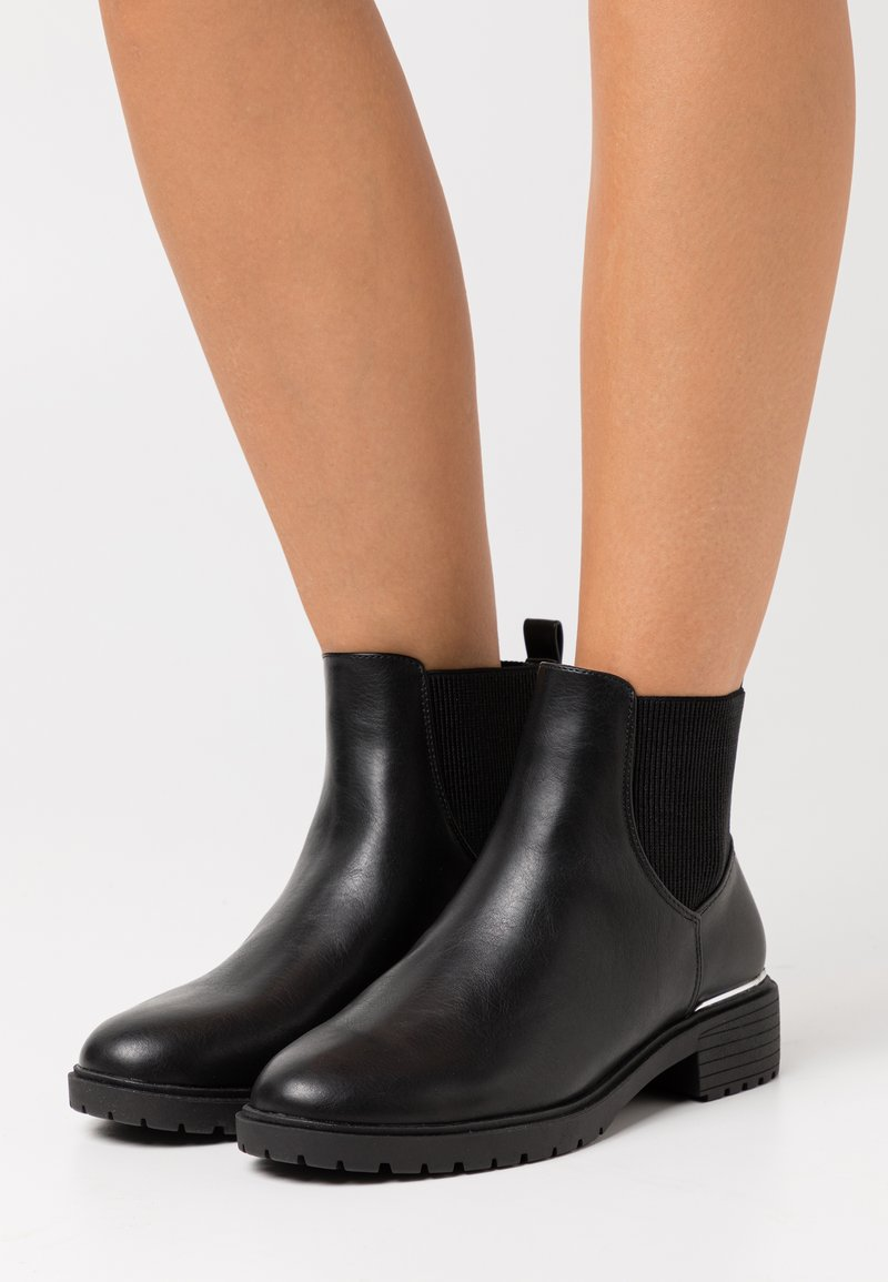 New Look Wide Fit - WIDE FIT DAPPER  - Classic ankle boots - black