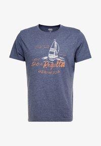 IZOD - T-shirts print - anchor navy - 3