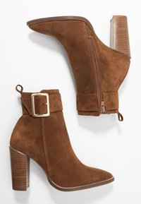KIOMI - Classic ankle boots - brown - 3