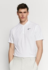 Nike Golf - DRY VICTORY - Sports shirt - white/black - 0
