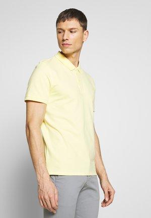 SHDARO EMBROIDERY - Polo shirt - lemon meringue