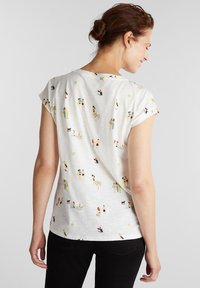 Esprit - T-shirt z nadrukiem - off white - 2