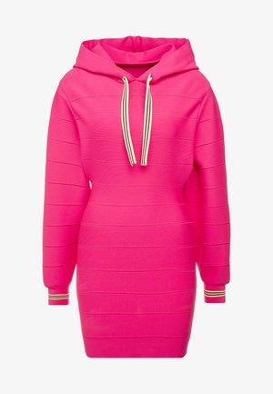 DRESS - Jumper dress - neon pink