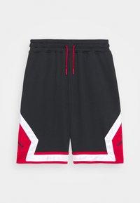 Jordan - JUMPMAN DIAMOND SHORT UNISEX - Pantalón corto de deporte - black - 0