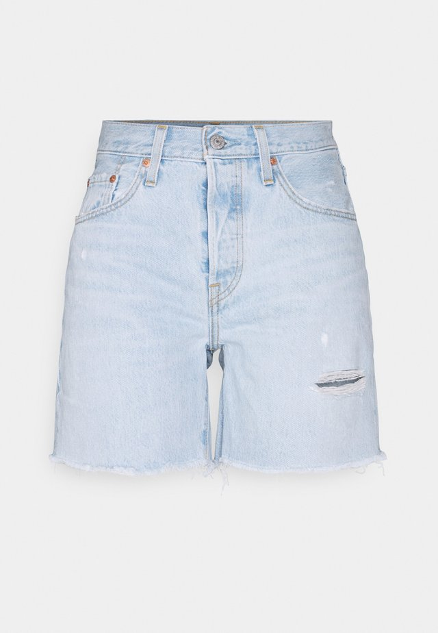 501® MID THIGH - Szorty jeansowe - luxor focus