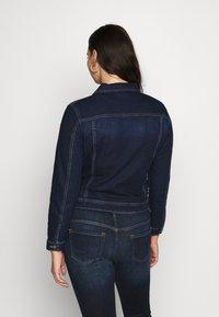 ONLY Carmakoma - CARWESPA LIFE JACKET - Denim jacket - dark blue denim - 2