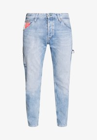 Tommy Jeans - TAPERED CARPENTER - Vaqueros tapered - light-blue denim - 5
