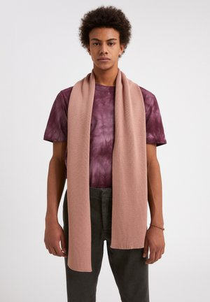 Sjaal - natural dusty rose
