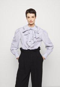 Alberta Ferretti - CAMICIA - Long sleeved top - white - 4