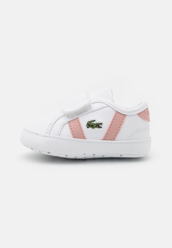 SIDELINE CRIB - First shoes - white/light pink