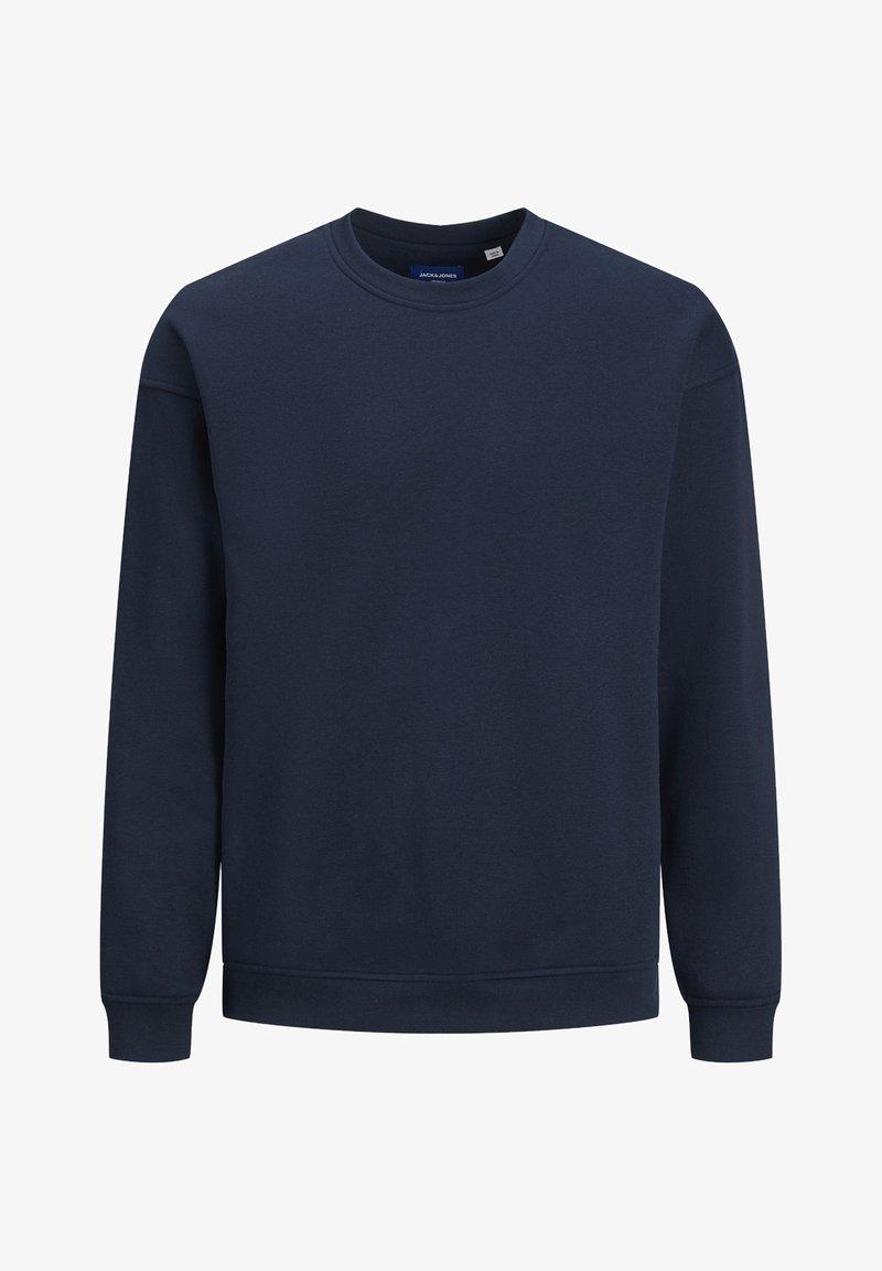 Jack & Jones - JORBRINK CREW NECK - Sweatshirt - navy blazer