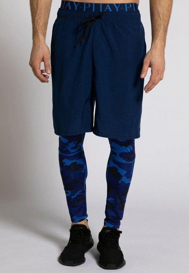 Sports shorts - dunkelindigo