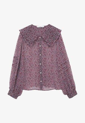 AMELIE - Button-down blouse - rood