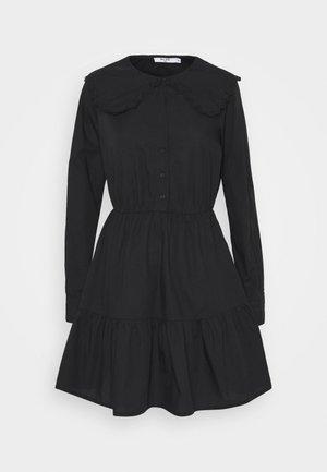 COLLAR DRESS - Day dress - black