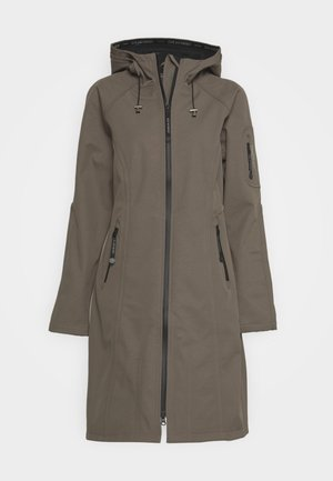 FUNCTIONAL RAINCOAT - Parka - dark ash