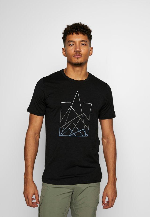 TECH LITE - T-Shirt print - black