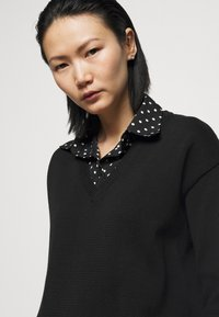 Lauren Ralph Lauren - GASSED COLLAR - Jumper - black - 3
