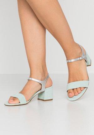 LEATHER - Sandaler - mint