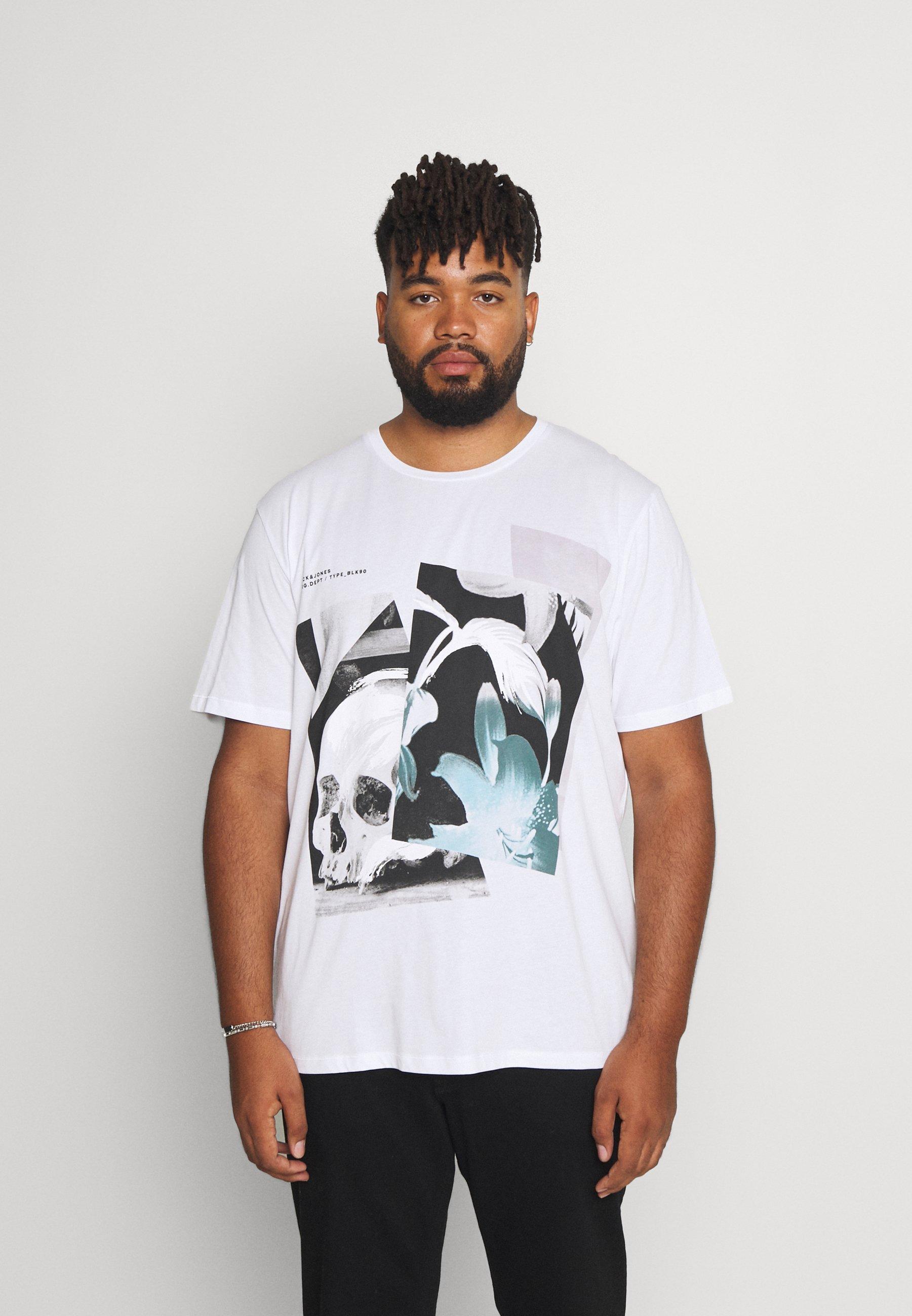 Herrer JORREFLECT TEE CREW NECK - T-shirts print