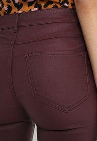 Vila - VICOMMIT  - Jeans Skinny - winetasting - 5