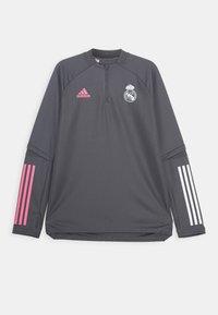 adidas Performance - REAL MADRID AEROREADY FOOTBALL - Club wear - grey - 0