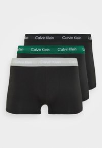 Calvin Klein Underwear - LOW RISE TRUNK 3 PACK - Culotte - alligator/grey heather/ black - 5