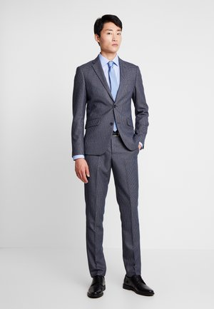 CHECKED SUIT - Suit - black