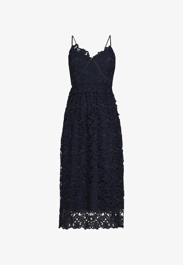 YASLUIE STRAP MIDI DRESS - Cocktail dress / Party dress - dark sapphire