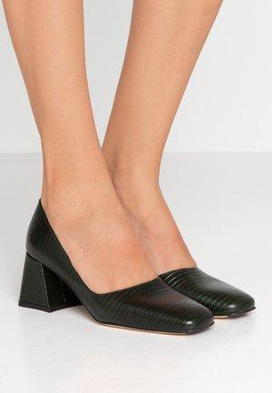 ALOISE - Classic heels - bottle green