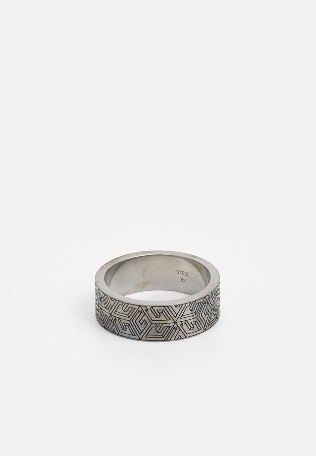 CUBE - Ring - antique silver-coloured