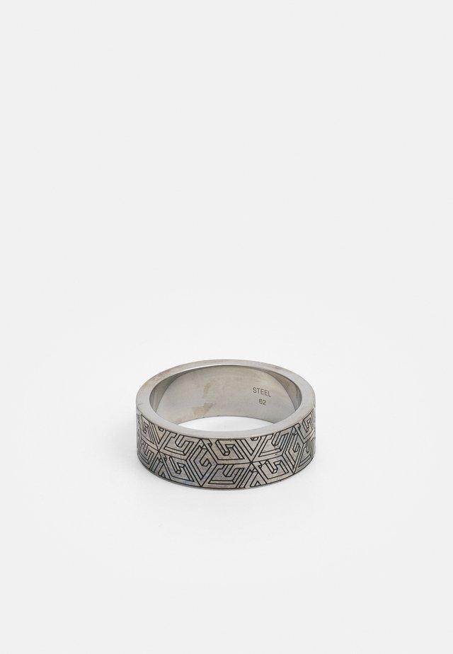 CUBE - Bague - antique silver-coloured