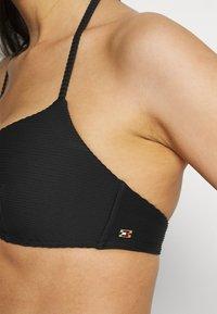 Tommy Hilfiger - SOLIDS PUSH UP - Bikini top - black - 3