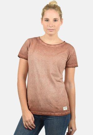 KARIN - T-shirt con stampa - rose