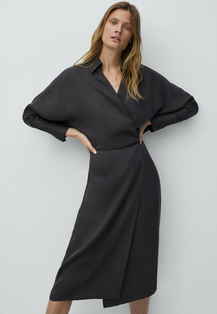 Massimo Dutti - Robe d'été - dark grey