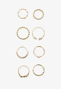 Stradivarius - 8ER-SET - Ring - gold coloured - 2