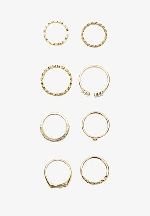 8ER-SET - Ring - gold coloured