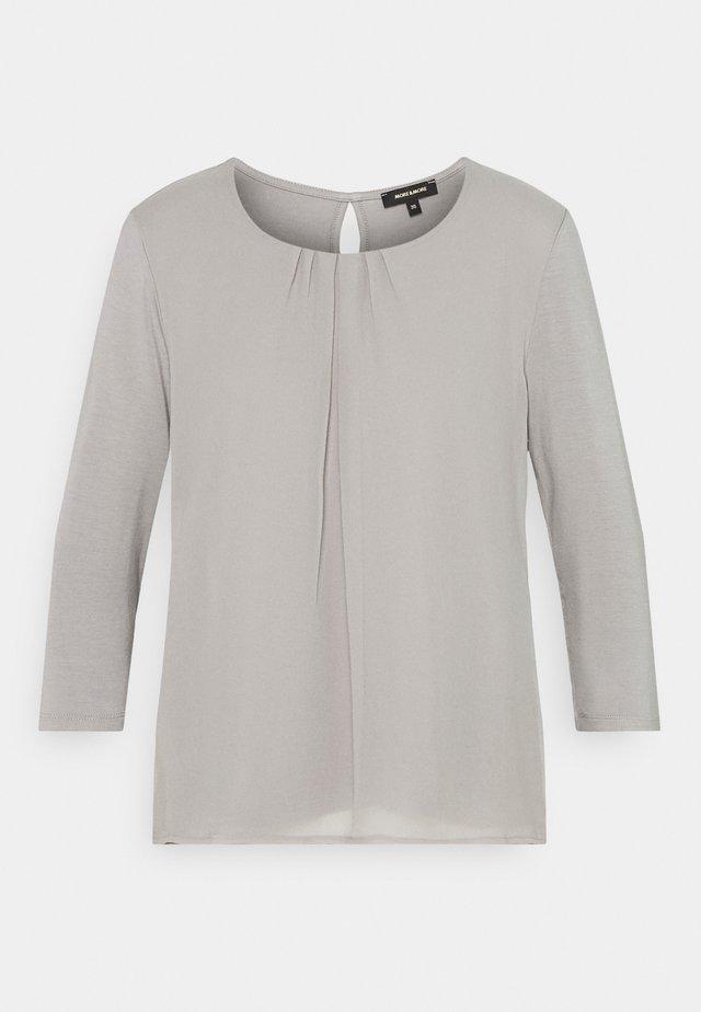 PATCHED - Bluzka z długim rękawem - new grey