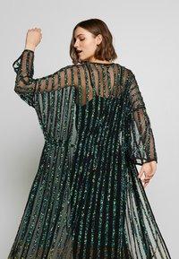 MANÉ - CETO DRAWSTRING - Summer jacket - washed black/emerald - 4