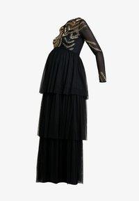Maya Deluxe Maternity - EMBELLISHED BODICE MAXI DRESS - Maxikleid - black - 7