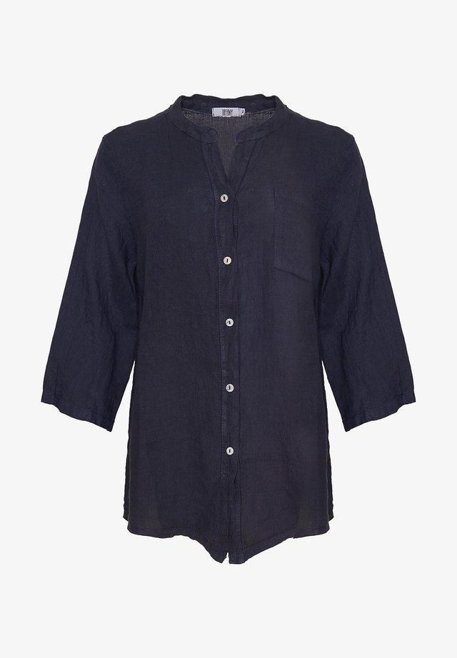 Blouse - navy blue