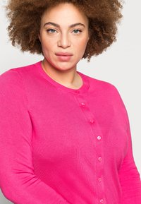 Marks & Spencer London - CREW CARDI PLAIN - Cardigan - pink - 4