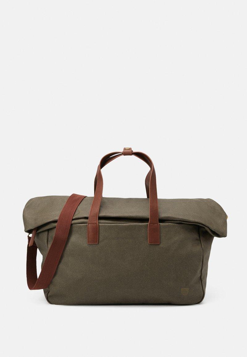 Pier One - UNISEX - Weekend bag - olive